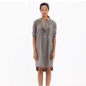 Madewell Pleated Tunic Dress